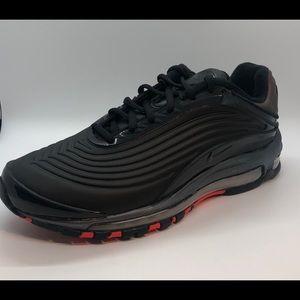 NEW Nike Air Max Deluxe 'Black Crimson'